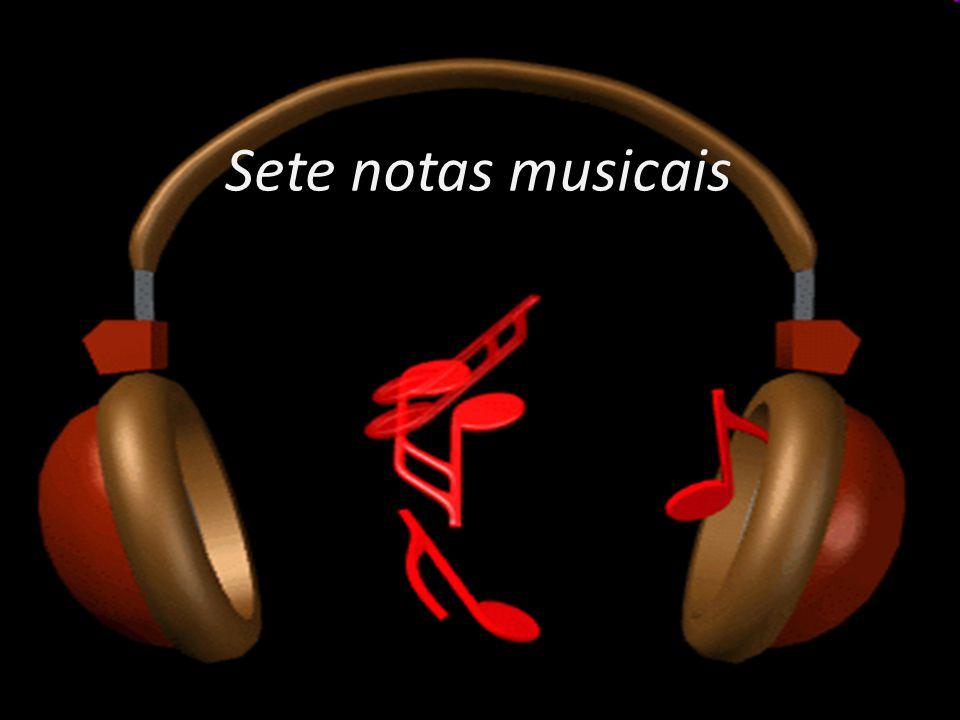 Sete notas musicais