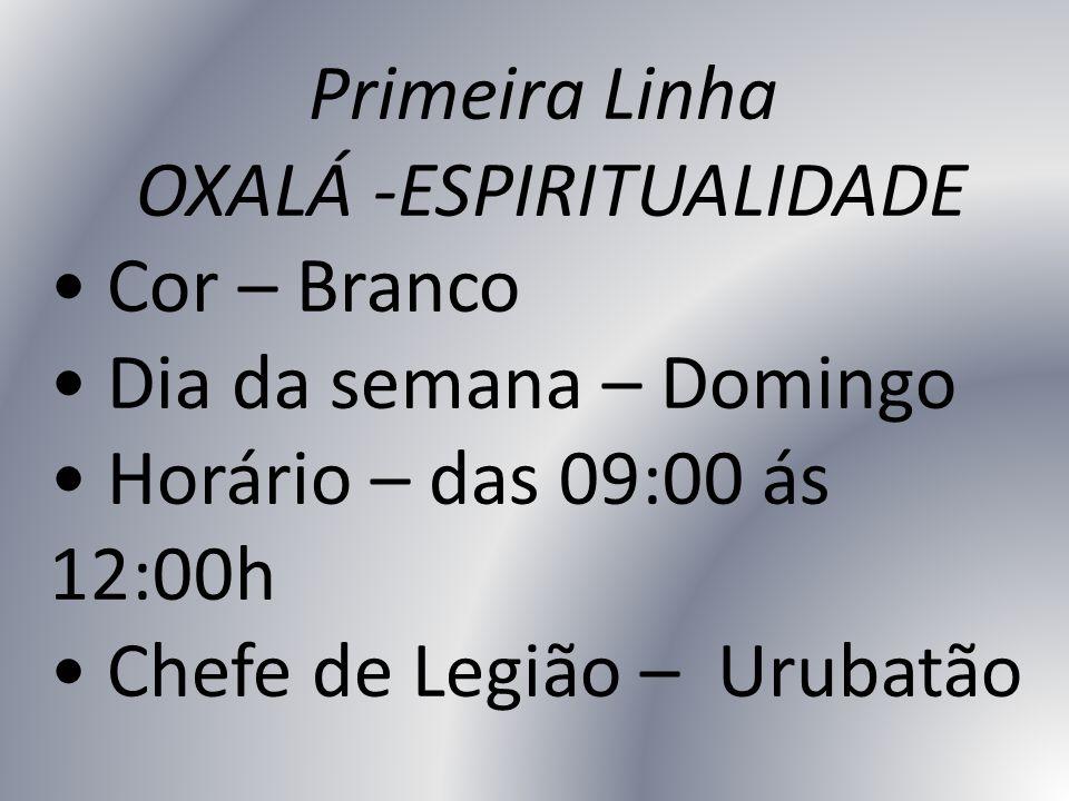 OXALÁ -ESPIRITUALIDADE