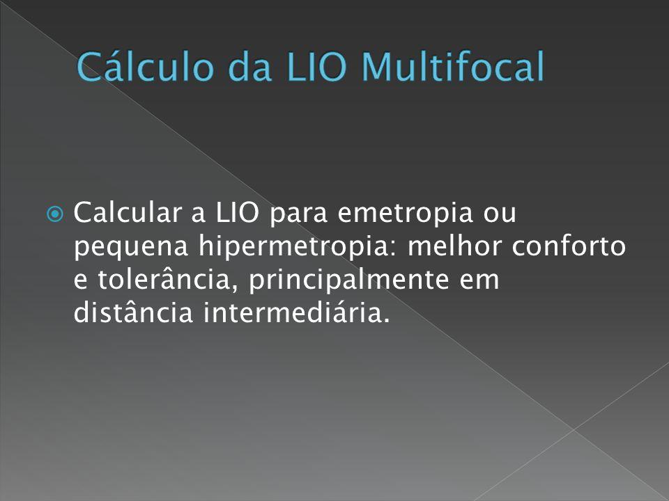 Cálculo da LIO Multifocal