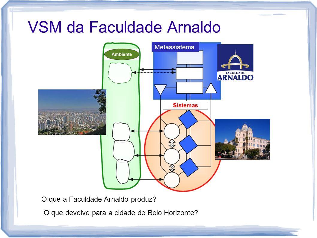 VSM da Faculdade Arnaldo