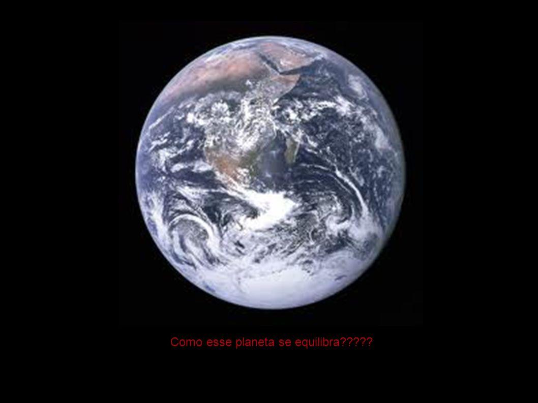 Como esse planeta se equilibra