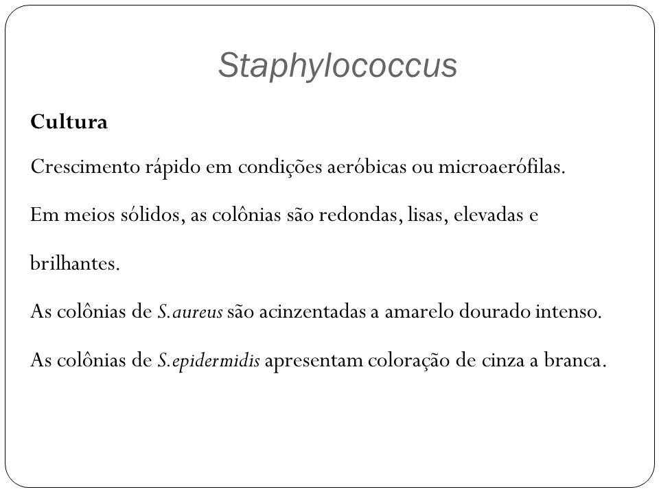 Staphylococcus