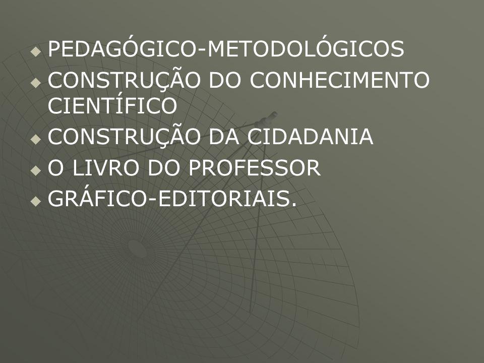 PEDAGÓGICO-METODOLÓGICOS