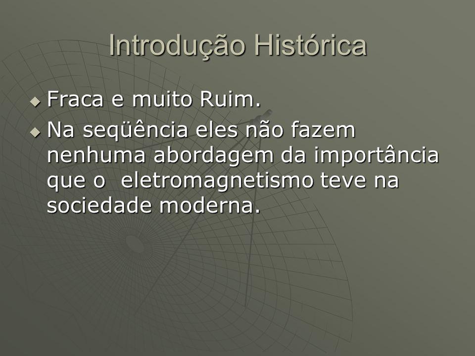 Introdução Histórica Fraca e muito Ruim.