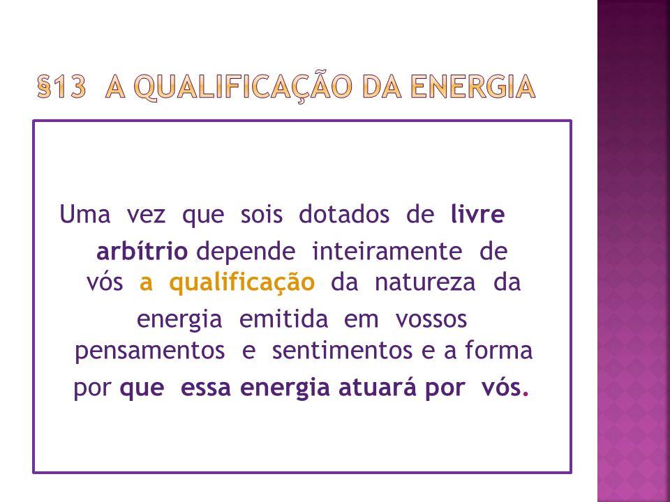§13 A qualificação da energia