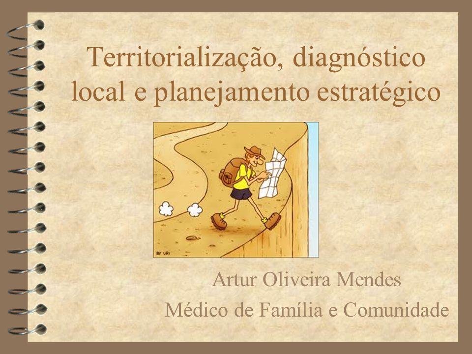 Territorialização, diagnóstico local e planejamento estratégico
