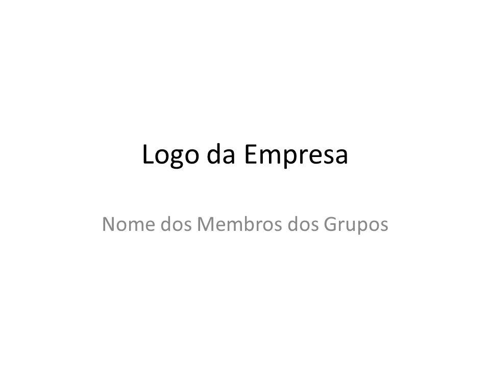 Nome dos Membros dos Grupos