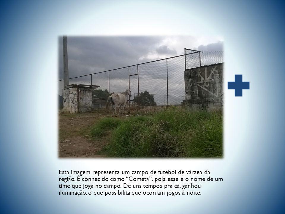 Esta imagem representa um campo de futebol de várzea da região