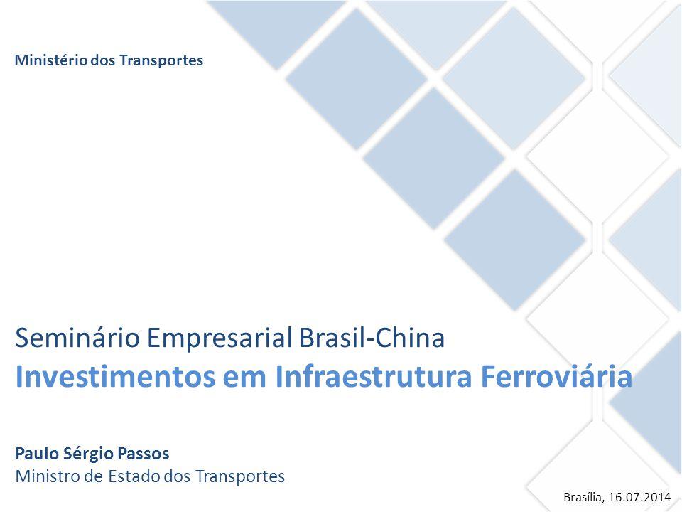 Investimentos em Infraestrutura Ferroviária
