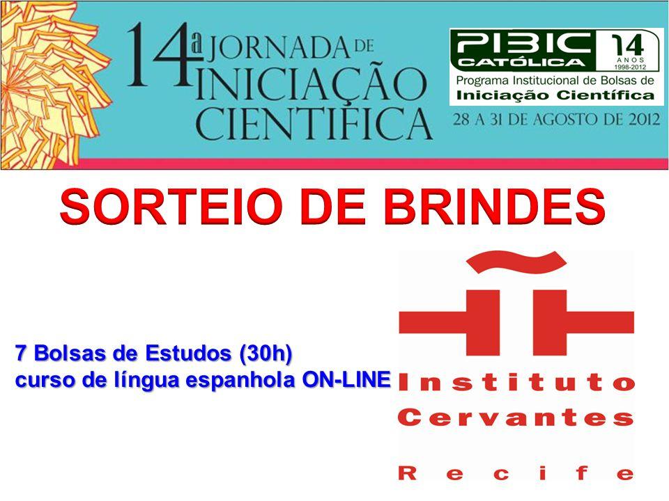 SORTEIO DE BRINDES 7 Bolsas de Estudos (30h)