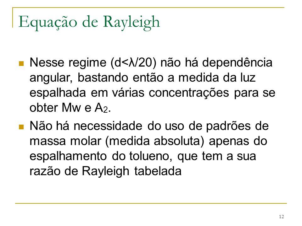 Equação de Rayleigh