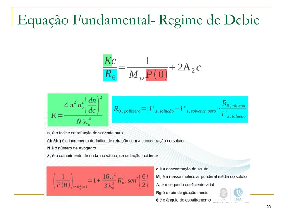 Equação Fundamental- Regime de Debie