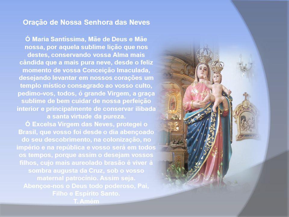Oração de Nossa Senhora das Neves