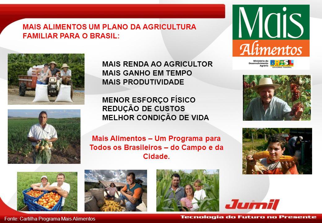 MAIS ALIMENTOS UM PLANO DA AGRICULTURA FAMILIAR PARA O BRASIL: