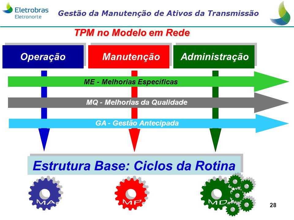 Estrutura Base: Ciclos da Rotina