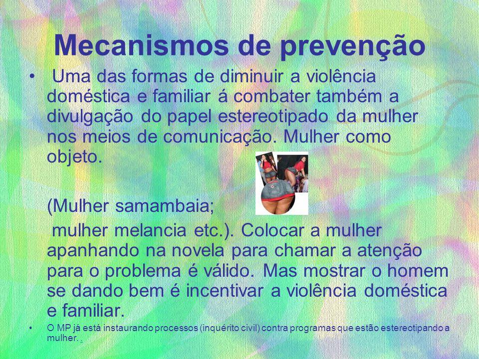 Mecanismos de prevenção