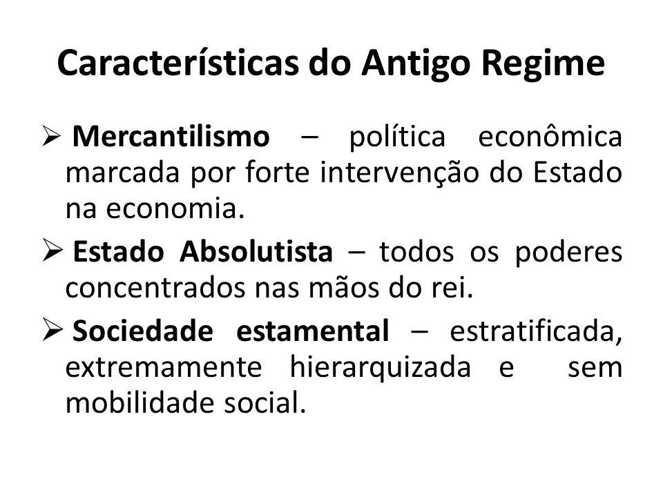Características do Antigo Regime