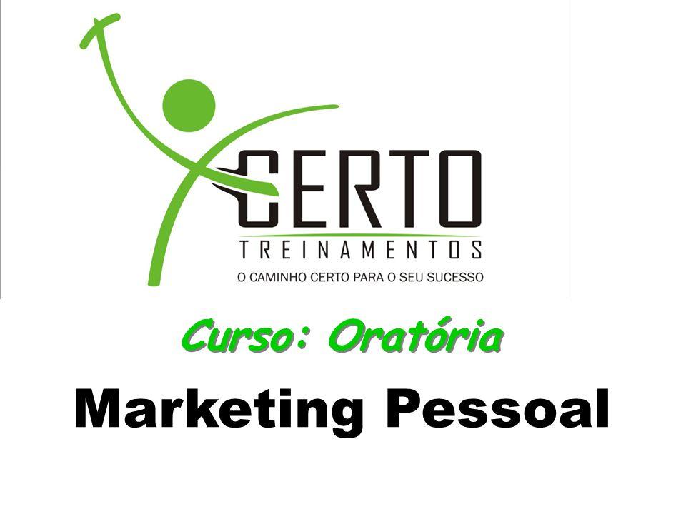 Curso: Oratória Marketing Pessoal