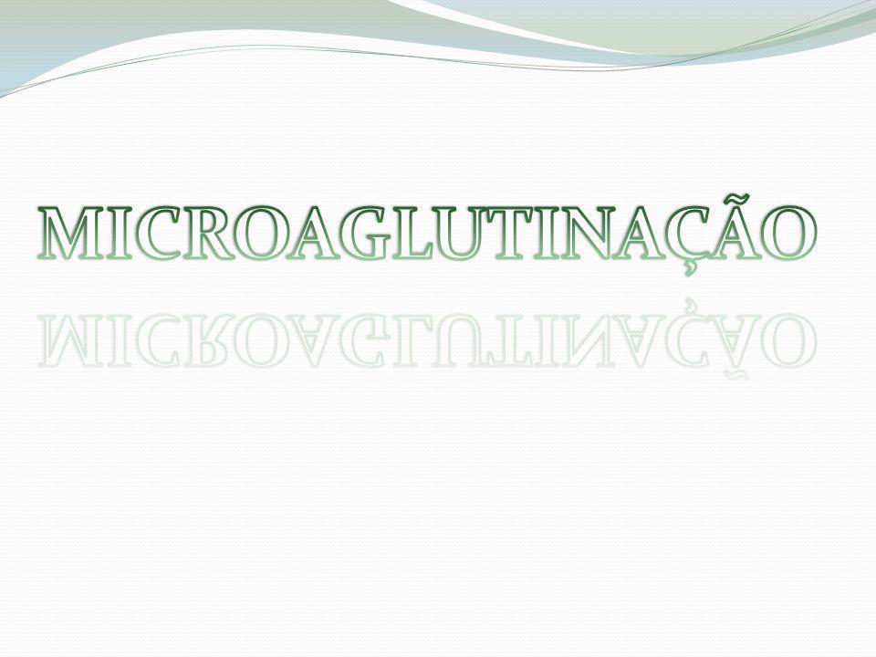 MICROAGLUTINAÇÃO