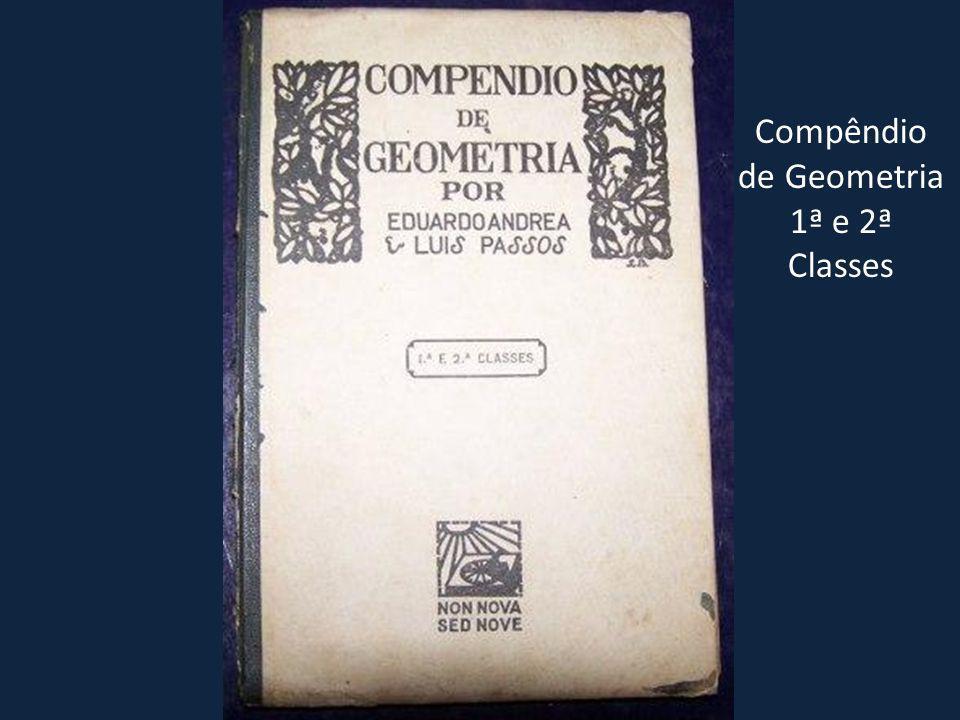 Compêndio de Geometria 1ª e 2ª Classes