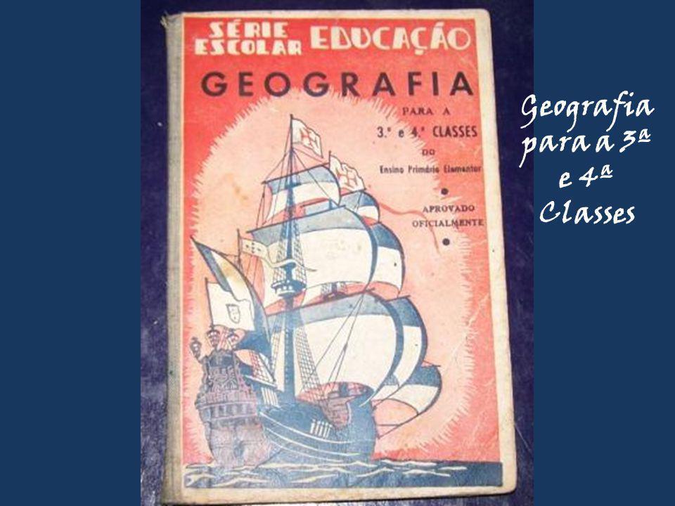 Geografia para a 3ª e 4ª Classes