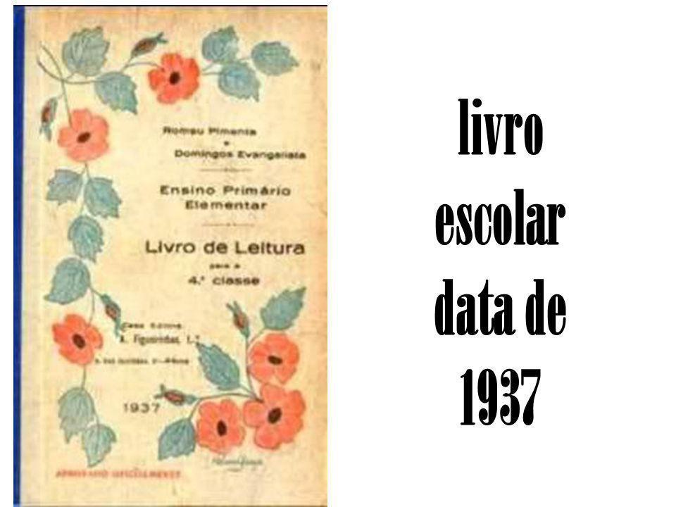 livro escolar data de 1937