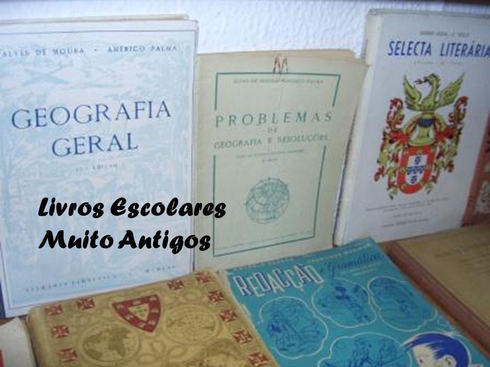Livros Escolares Muito Antigos