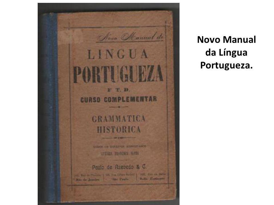 Novo Manual da Língua Portugueza.