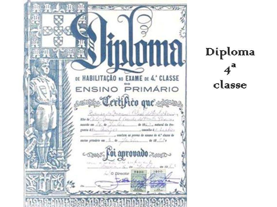 Diploma 4ª classe