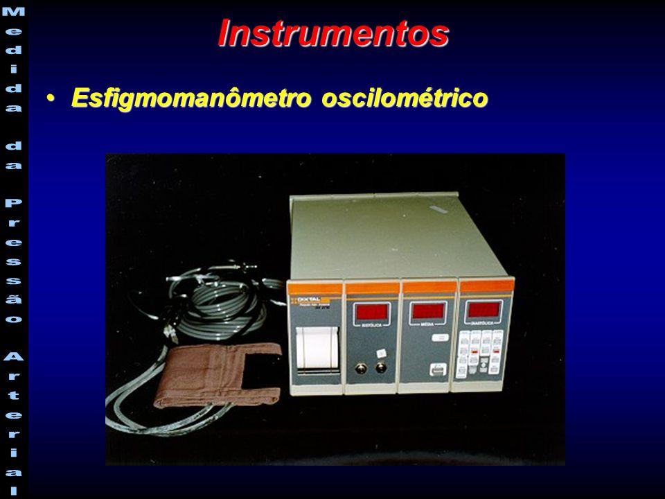 Instrumentos Esfigmomanômetro oscilométrico