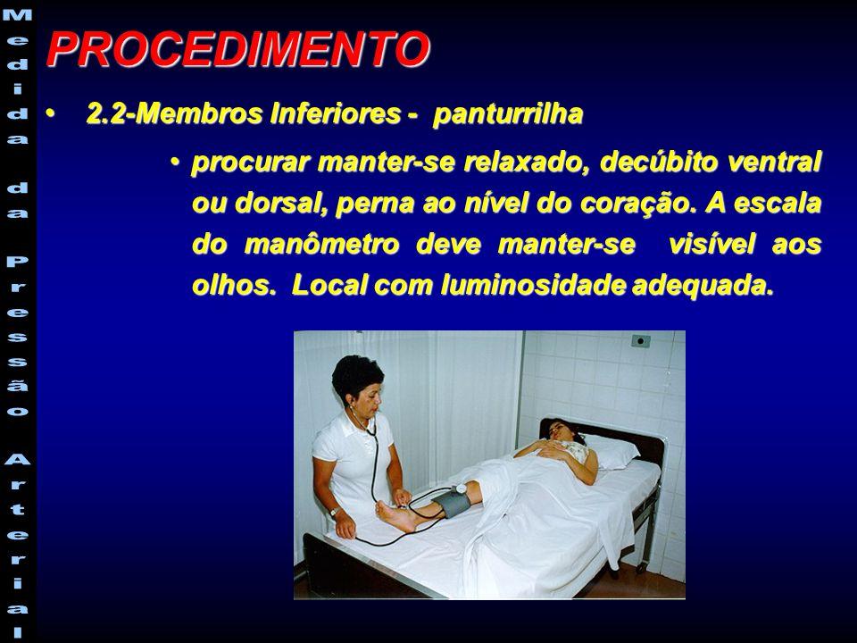 PROCEDIMENTO 2.2-Membros Inferiores - panturrilha