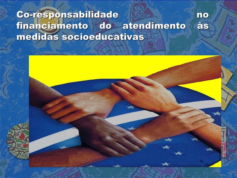Co-responsabilidade no financiamento do atendimento às medidas socioeducativas