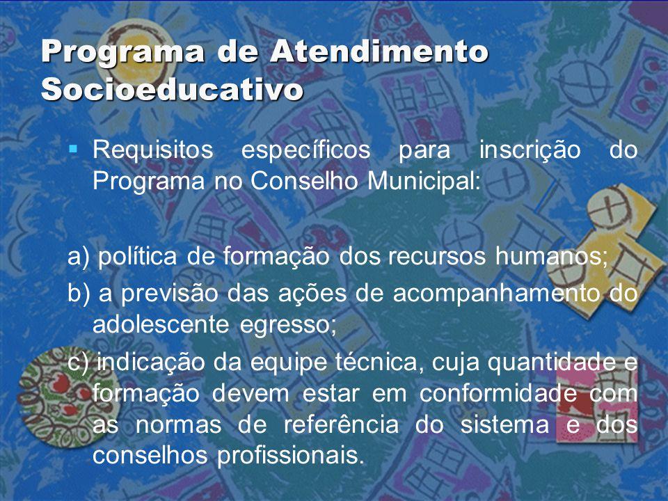 Programa de Atendimento Socioeducativo