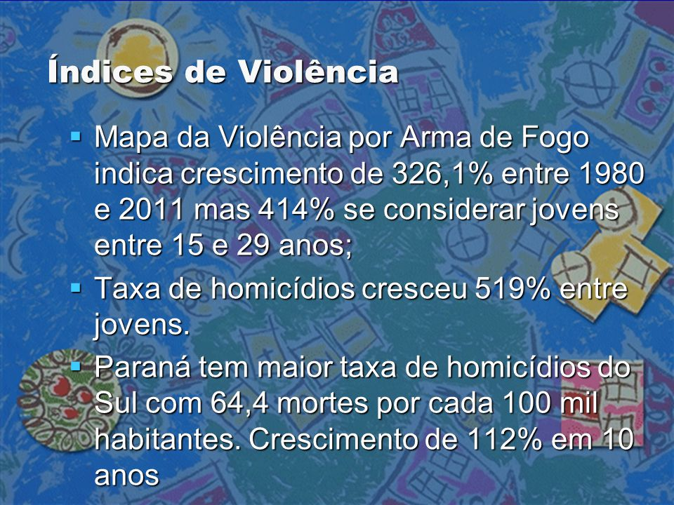 Índices de Violência