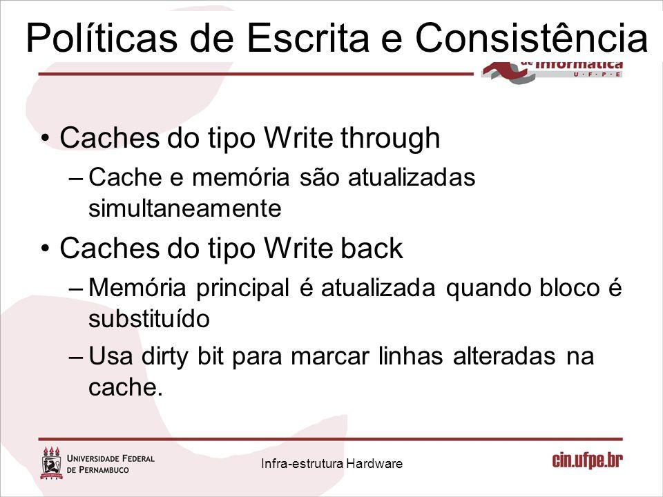 Políticas de Escrita e Consistência