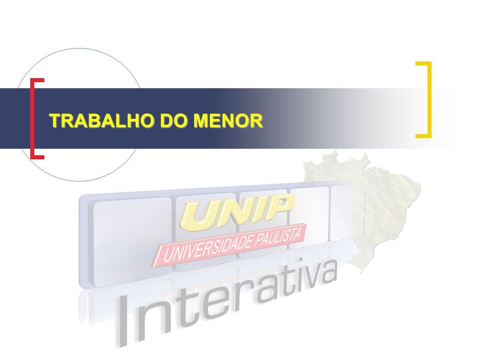 TRABALHO DO MENOR