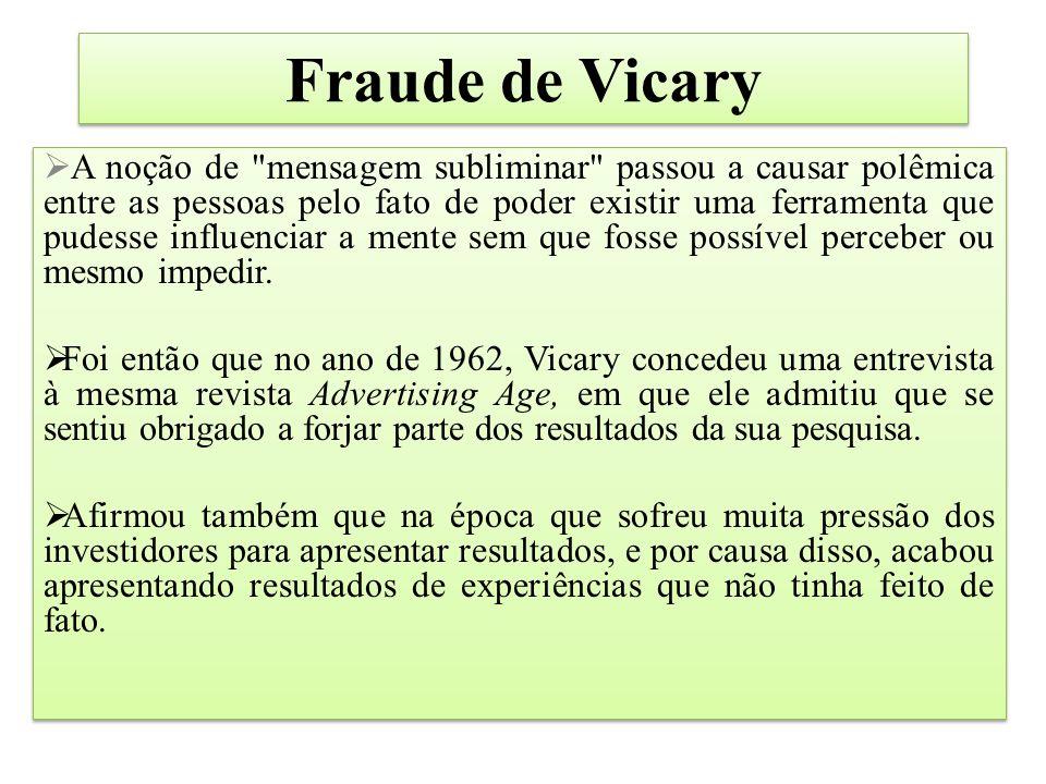 Fraude de Vicary