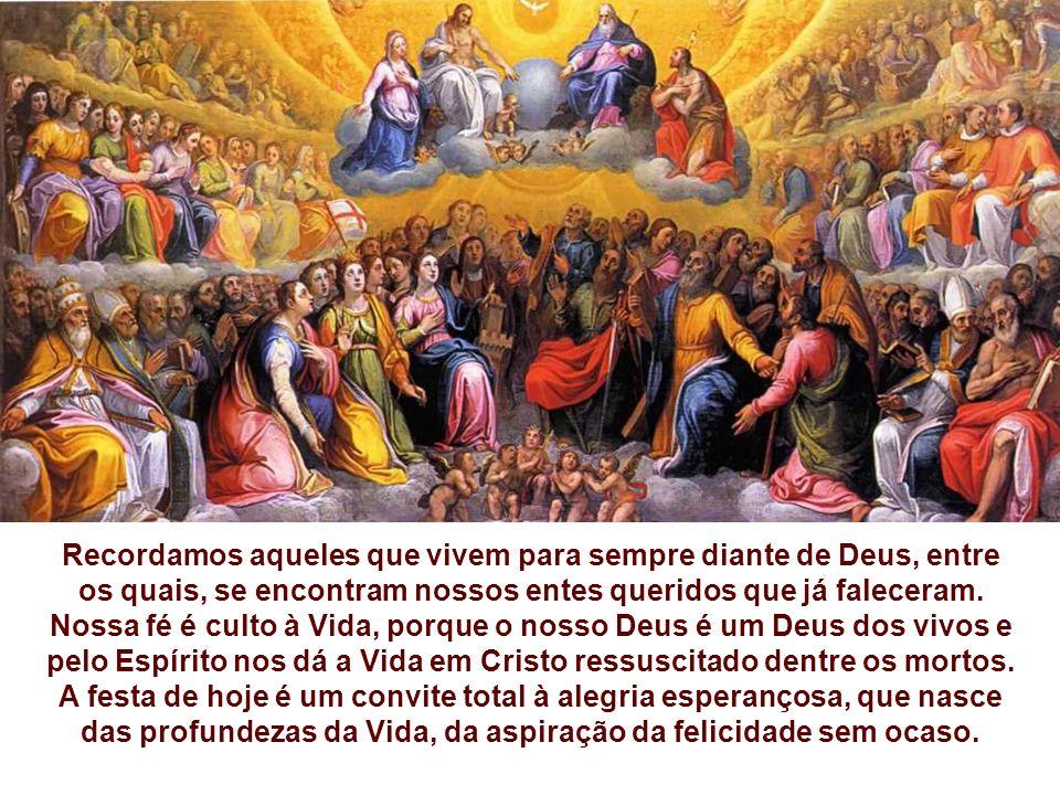 Nossa fé é culto à Vida, porque o nosso Deus é um Deus dos vivos e