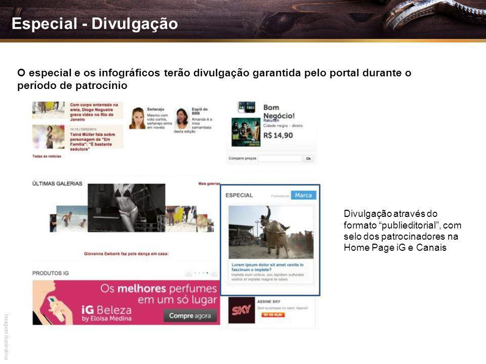 Especial - Divulgação O especial e os infográficos terão divulgação garantida pelo portal durante o período de patrocínio.