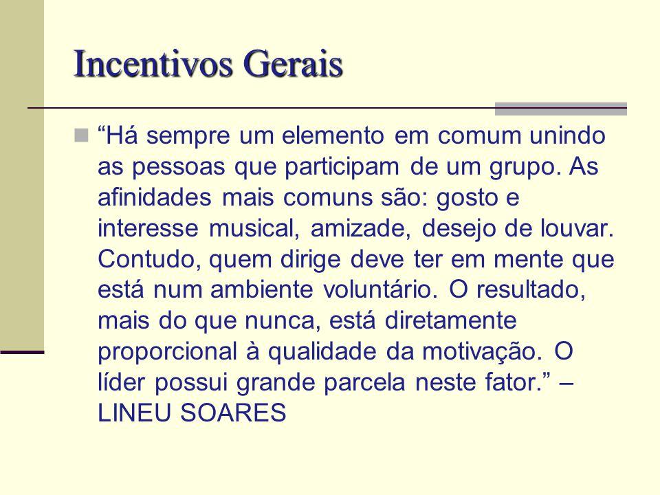 Incentivos Gerais