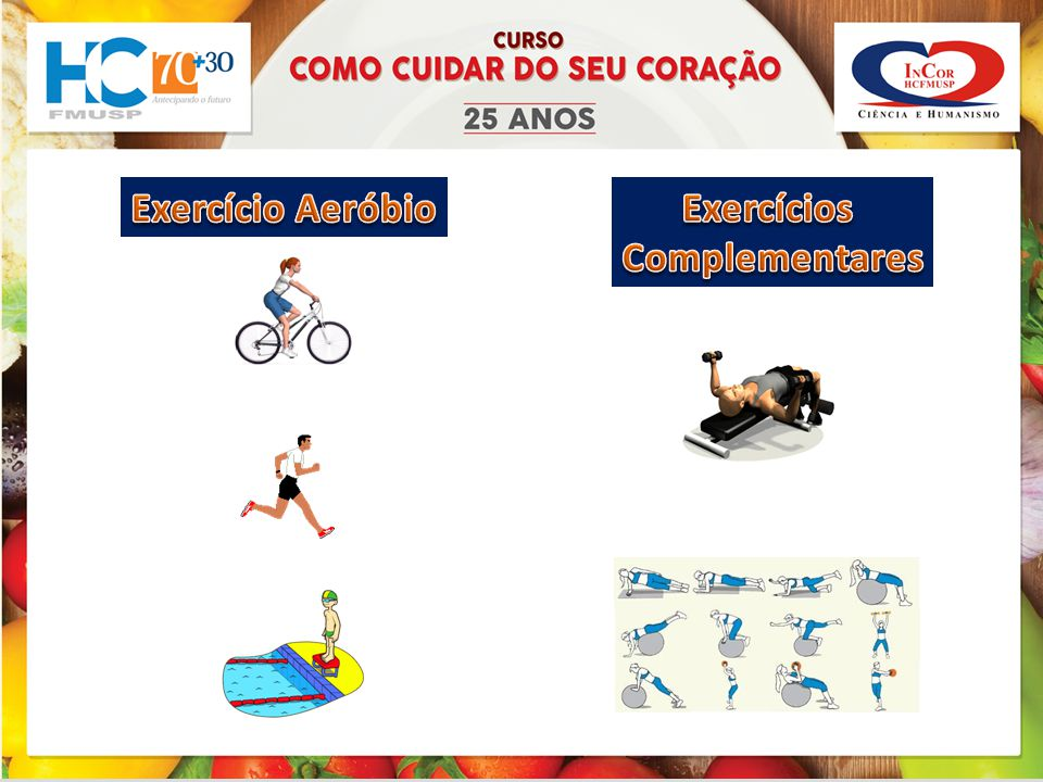 Exercício Aeróbio Exercícios Complementares