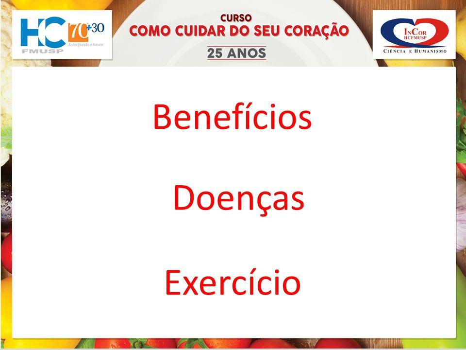 Benefícios Doenças Exercício