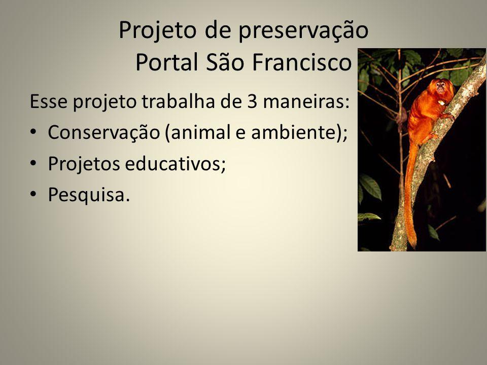Projeto de preservação Portal São Francisco