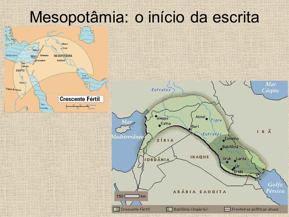 Mesopotâmia: o início da escrita