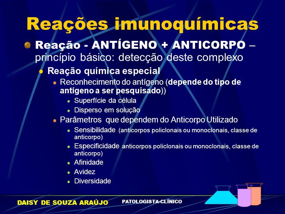Reações imunoquímicas
