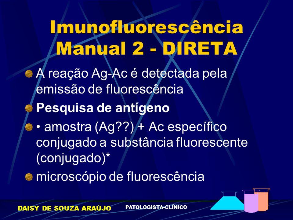 Imunofluorescência Manual 2 - DIRETA