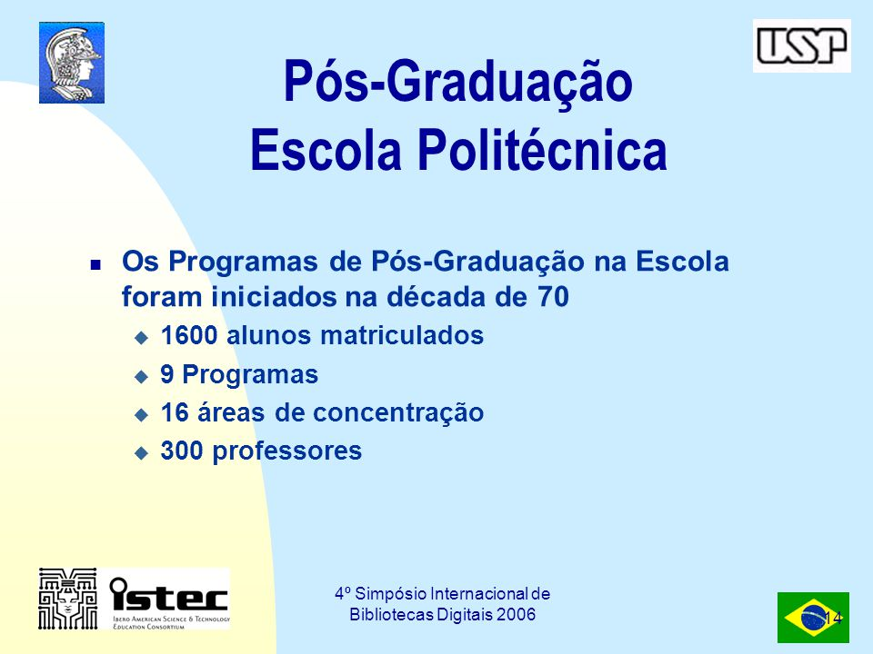 Pós-Graduação Escola Politécnica