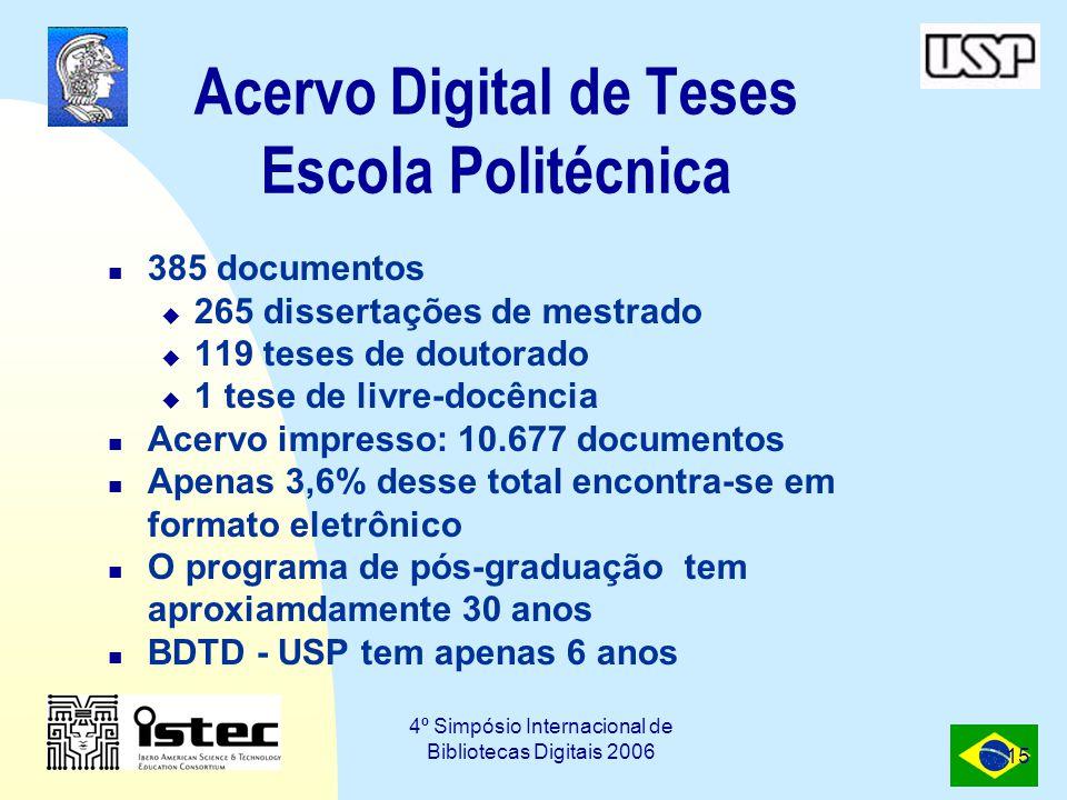Acervo Digital de Teses Escola Politécnica