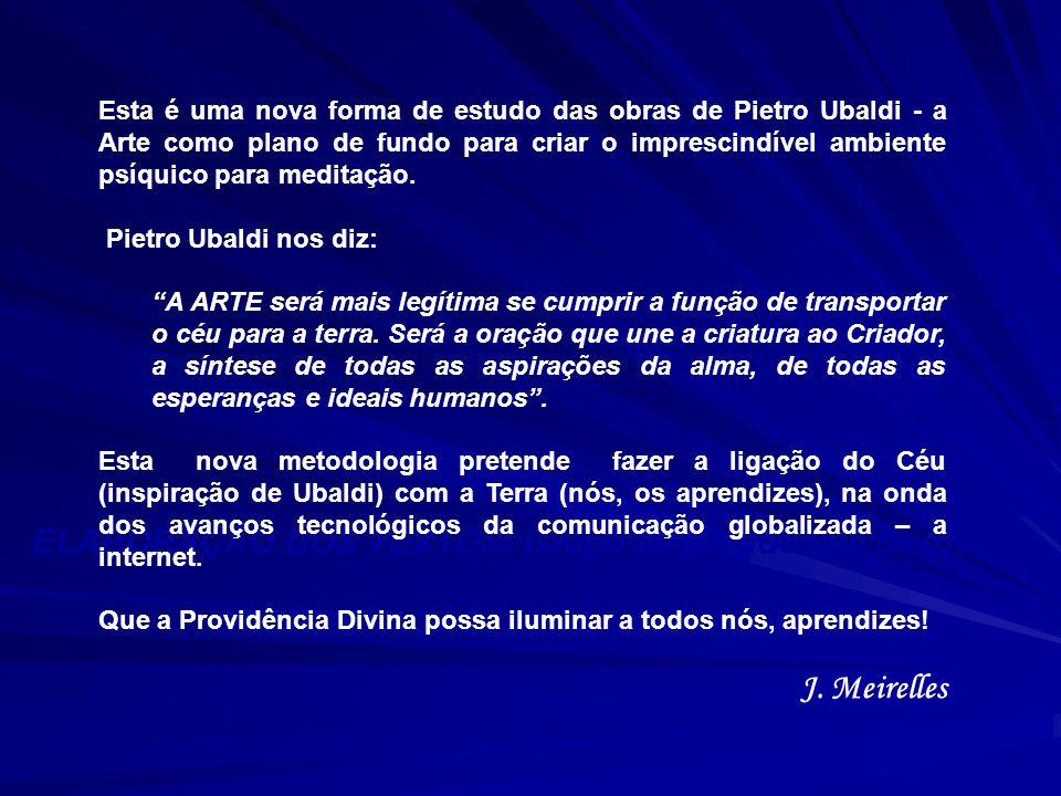 J. Meirelles ELABORAÇÃO DOS TEXTOS: Grupo de Estudos de Sorocaba