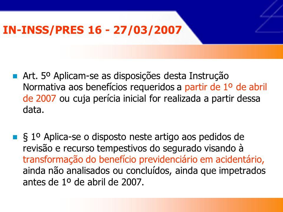 IN-INSS/PRES 16 - 27/03/2007